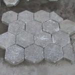 zeskant betontegel