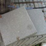 gebruikte betontegel